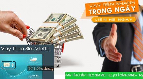 Vay tiền theo sim Viettel – Top 3 công ty tài chính tốt nhất
