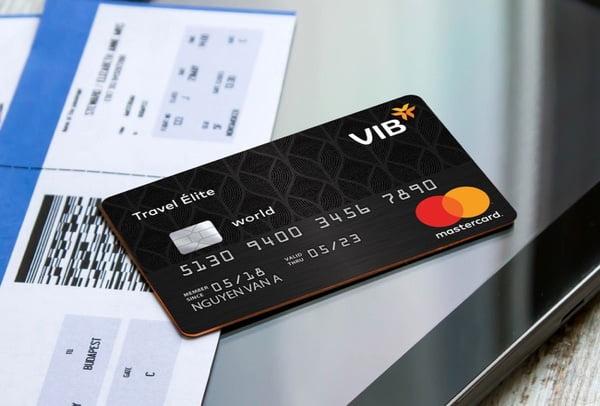 Thẻ tín dụng VIB Travel Élite (MasterCard)