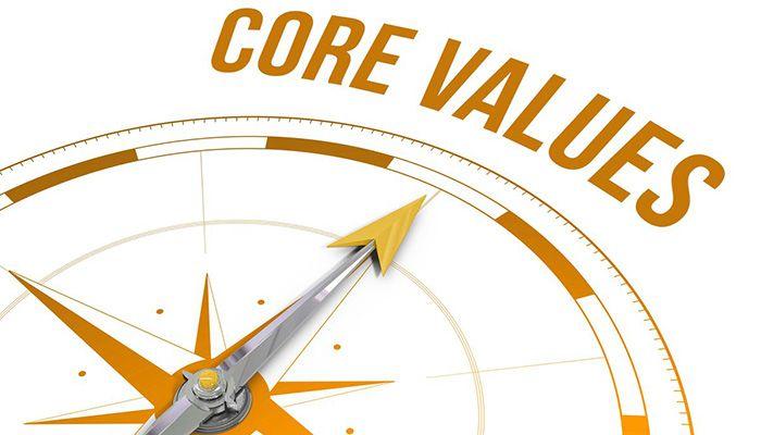 Giá trị cốt lõi là những chuẩn mực không thể thiếu