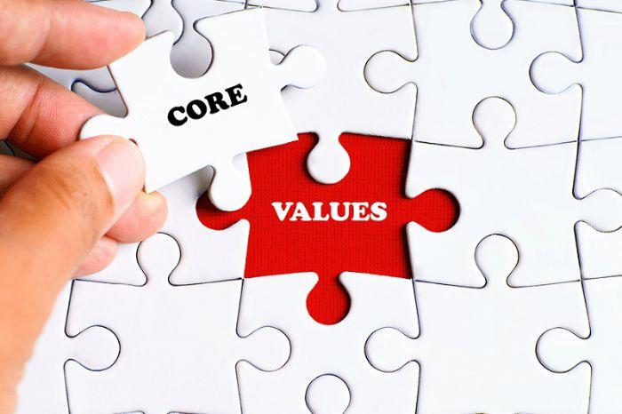 Để tạo nên một công ty thành công và phát triển cần phải xây dựng giá trị cốt lõi