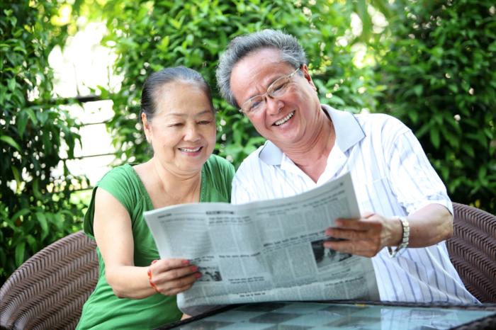 Bảo hiểm hưu trí có thể tự chủ về tài chính khi về già