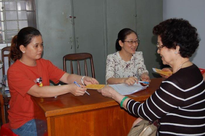 Hình 2: Được nhận thêm trợ cấp ngoài bảo hiểm xã hội