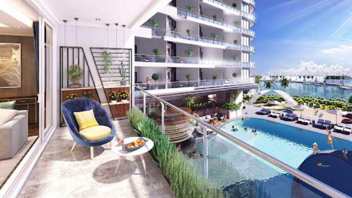 Mô hình căn hộ khách sạn có đầy đủ tiện nghi, đáp ứng nhu cầu sử dụng của khách du lịch