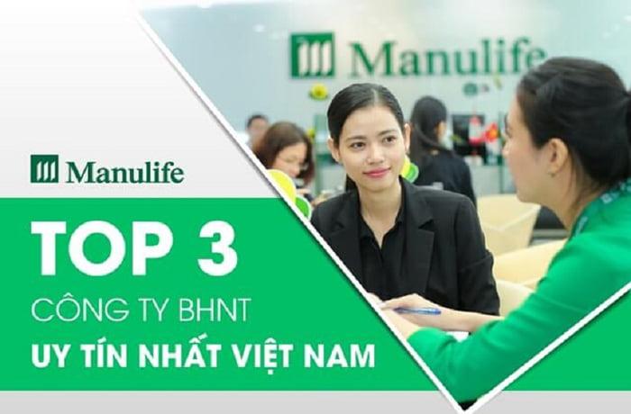 Manulife là công ty bảo hiểm uy tín tại Việt Nam