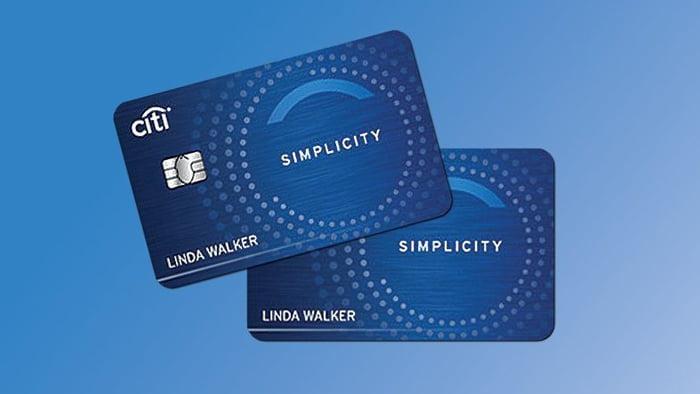 Thẻ tín dụng Citi Simplicity