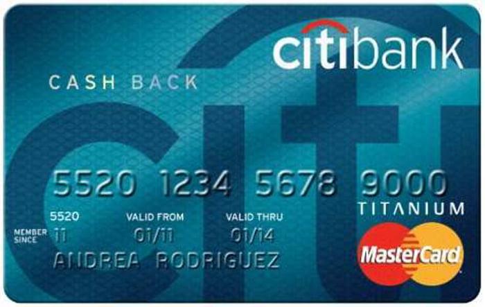 thẻ tín dụng citi cashback visa