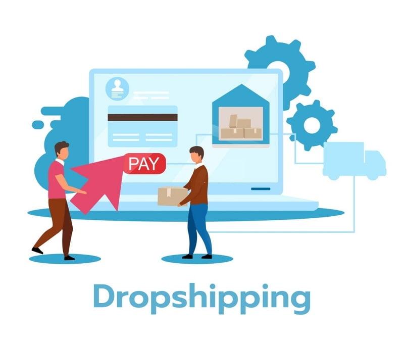kiếm tiền với dropshipping