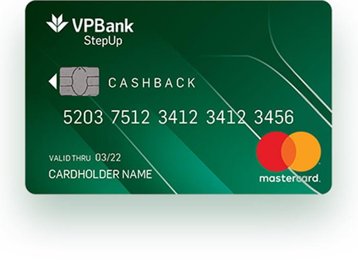 thẻ tín dung vpbank stepup