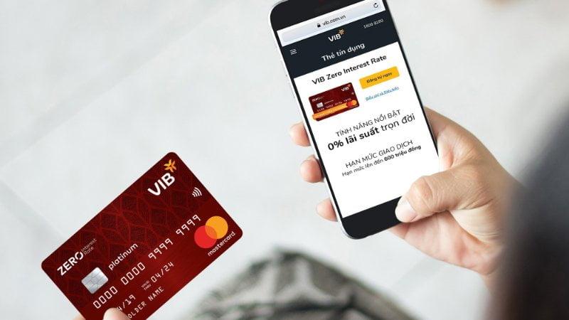 Sử dụng thẻ VIB đơn giản, hiệu quả